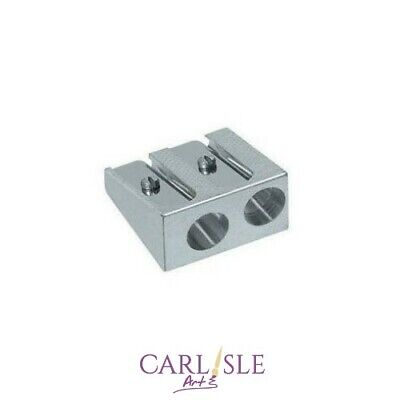 Faber-Castell - Double Hole Metal Pencil Sharpener