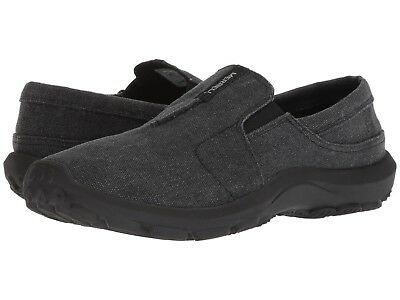 NEW Mens Merrell Jungle Ayers Moc Black Canvas Casual Slip On Shoes AUTHENTIC