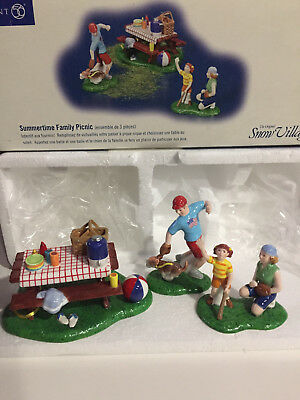 "Dept 56 ""Summertime Family Picnic"""