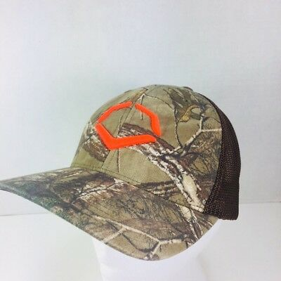 cheap for discount f8449 8d097 EvoShield Outdoor Hunting Flextfit Hat-Realtree Camo S Med Brown Mesh