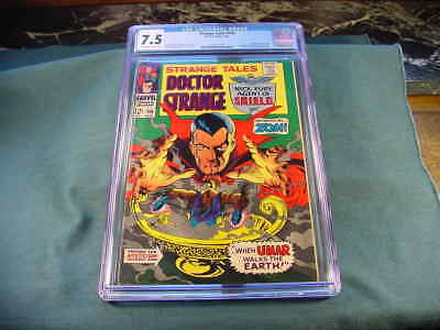 Nick Fury Doctor Strange Tales  # 156 CGC 7.5 Grade First Appearance of Zom