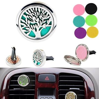Aromatherapy Car Vent Essential Oil Diffuser For Car Locket Clip ( 9 Model )