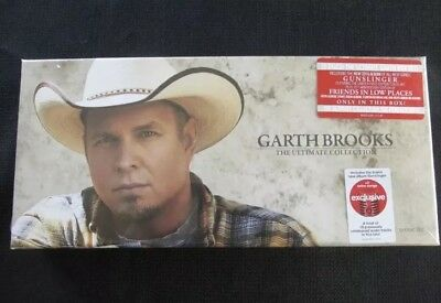 Sealed / New - Garth Brooks The Ultimate Collection 10 Disk Set 2016