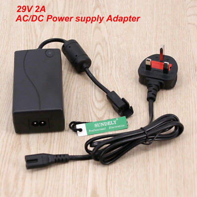 New 29V 2A Electric Recliner Sofa Chair Adapter Transformer Power Supply UK plug