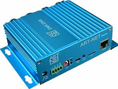 Bidirectional 4Ports/2048CH DMX512 to Art-Net Network Controller Stage Light