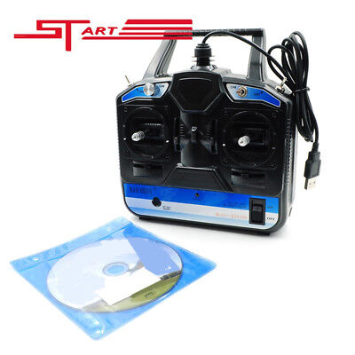 18 in 1 Flight Simulator 8CH with CD Disk RC transmitte Drone Helicopter Parts