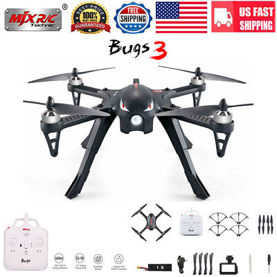 MJX B3 Bugs3 2.4G 4CH 6-Axis RC Quadcopter Drone Brushless Motor Cam Bracket US