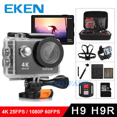 Original eken H9/H9R action camera 4K wifi Ultra HD 1080p/60fps pro waterproof