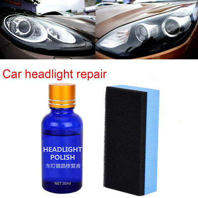 Car Headlight Polish Scratch Renovation Polishing Auto Coating Repair Liquid