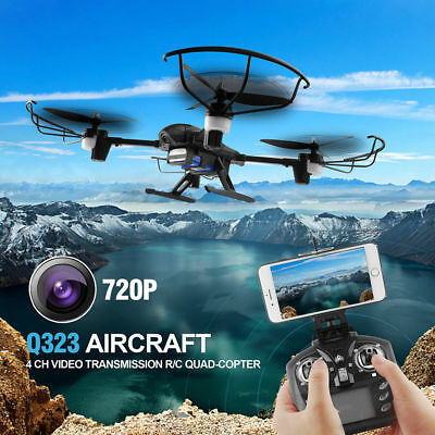 DRONE Radio/Remote RC Control Quadcopter HD Camera Multicopter Headless Gyro Toy
