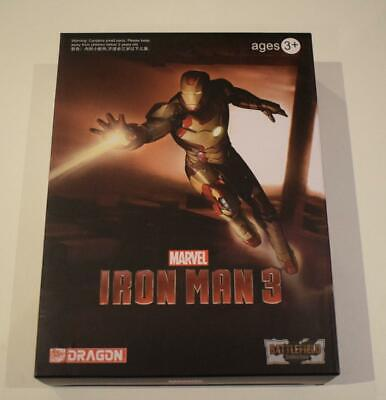 Dragon Marvel Iron Man 3 Mark 35 Armatura Rossa Kit 1/24 Action Figure