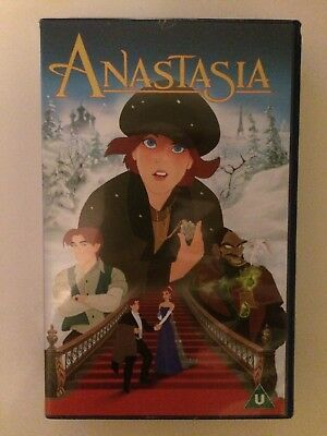 Anastasia VHS Video Cassette 1998