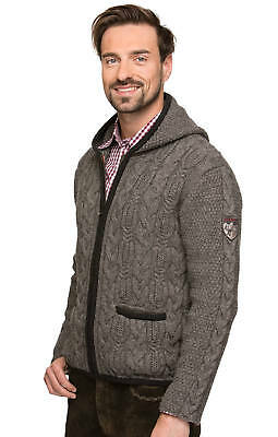 Stockerpoint Traditional Jacket Sweater Stone
