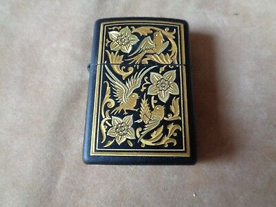 Zippo Lighter Vintage Serie Toledo 526 Nature's Medley  New