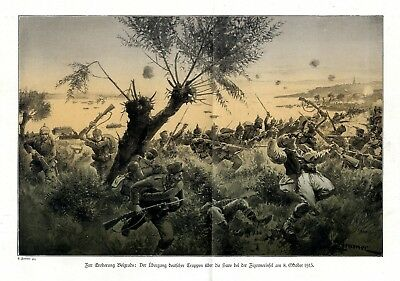 1915 eastern front * Struggles conquest of Belgrade * WW 1