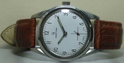 Vintage Certina Winding Swiss Made Mens Wrist Watch Old Used s100 Antique