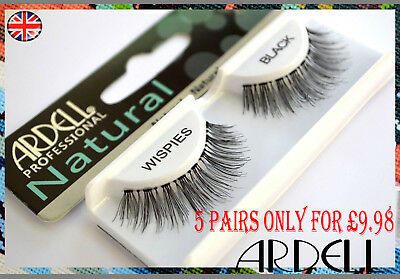 Ardell Lashes False Eyelashes - Wispies Multipack (Contains 5 Pairs)
