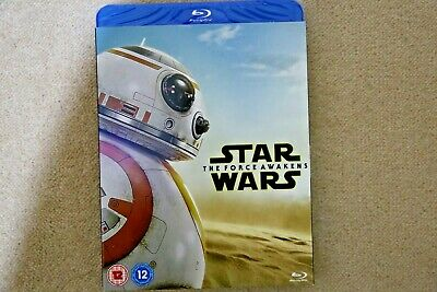 Blu-Ray Star Wars The Force Awakens ( With Ltd Edition  Slipsleeve ) New Stock
