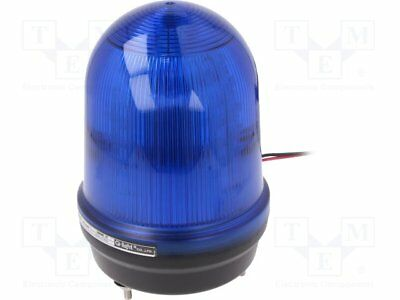 Signaller: lighting; flashing light, continuous light; blue; IP65 [1 pcs]