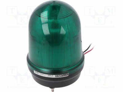 Signaller: lighting; flashing light, continuous light; green [1 pcs]