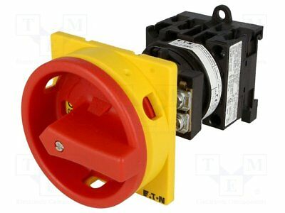 Switch: emergency switch; 2-position; 20A; 0-1; Poles no:3+N [1 pcs]