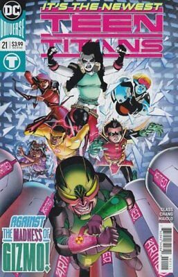 TEEN TITANS ISSUE 21 - FIRST 1st PRINT BERNARD CHANG COVER - DC COMICS REBIRTH