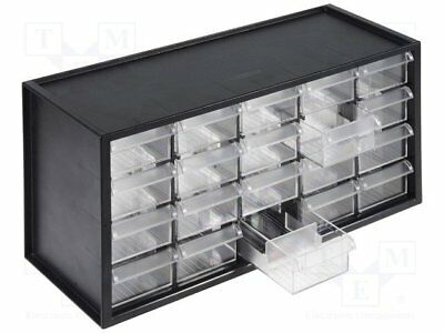 Set with drawers; Drawers no.in module:20; polystyrene; 940g [1 set]
