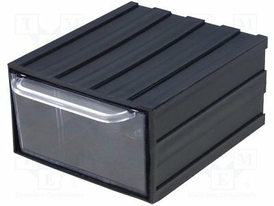 Module with drawer; 105x120x60mm; Module: black; W: 105mm; H: 60mm[20 set]