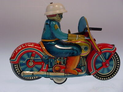"GSMOTO HADSON JAPAN ""POLICE MOTOCYCLE"" ,14 cm, FR OK, NEUWERTIG/NEARLY NEW !"