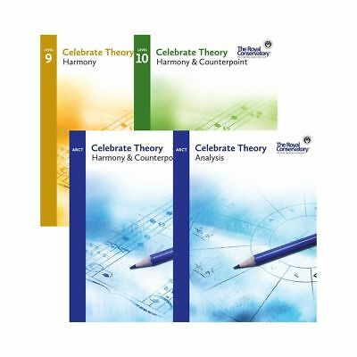 Celebrate Theory: Harmony & Counterpoint And Analysis Set