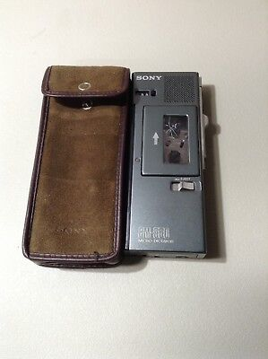 Sony Voice Recorder BM 550 Micro cassette Dictator - Used