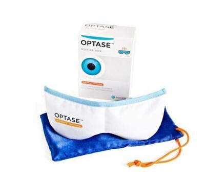 Optase Moist Heat Eye Mask For Blepharitis MGD Dry Eye