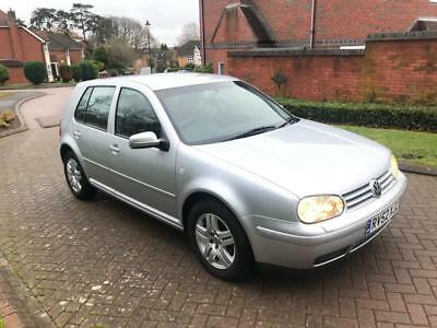 2002 Volkswagen Golf GT TDI 1.9 TDI 5 Door Hatchback Silver 1 Previous Owner