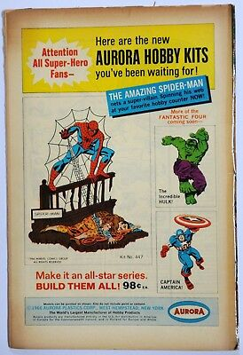 Fantastic Four Vol 1 # Silver-Age Marvel Comic  1967