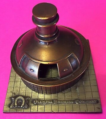 Olympia Beer Company Brass Kettle Post Prohibition 1933 replica 1st Ed
