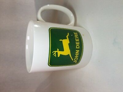 John Deere Green and Yellow Logo Coffee Cup 11 oz Mug Licensed Product by Gibson