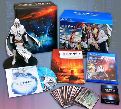 PS4 Tokyo Xanadu EX Limited Edition Collectible Box Set Sony PlayStation Game