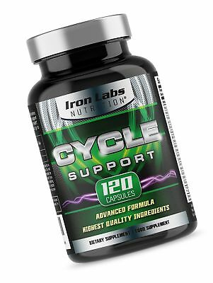 Cycle Support - Iron Labs Nutrition: On Cycle Protection & Liver Assist (120 ...