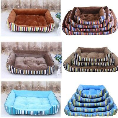 Pet Dog Cat Bed Puppy Warm Cushion House Pet Soft  Kennel Dog Mat Blanket New