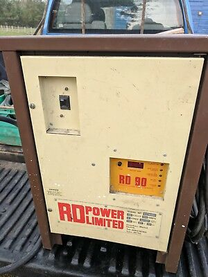 Bt Rollatruc Rd90 Forklift Single Phase Battery Charger 12 Cells At 100 Amps