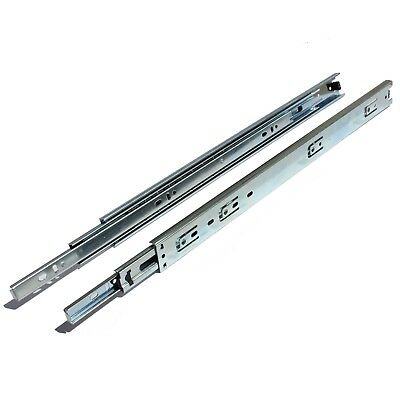 "GlideRite 14-22"" Full Extension 70lbs Side Mount Ball Bearing Drawer Slides"