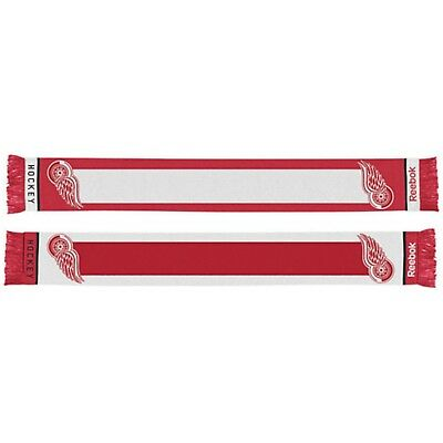 Detroit Red Wings Scarf Gift NHL USA Reebok Official Team Ice Hockey
