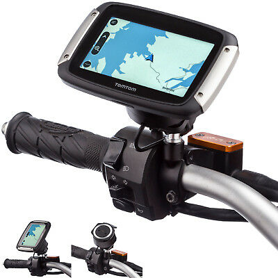 Motorcycle M10 Mirror Bike Mount for use with TomTom Rider V5 40 400 410 Dock