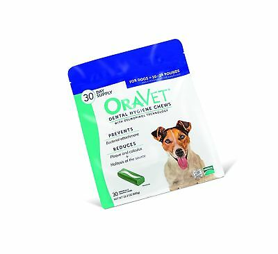 Oravet Merial Dental Hygiene Chew for Dogs 10-24lbs, 30 Count (Discontinued b...