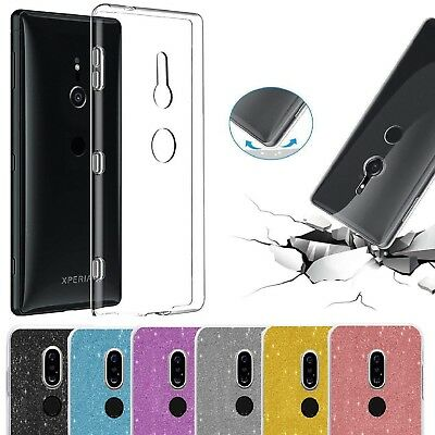 Case For Sony Xperia XZ3 XZ2 Compact XA2 XA1 Case Shockproof Silicone TPU Cover
