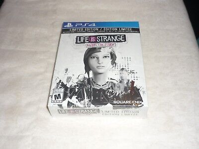 Life Is Strange Before the Storm LIMITED EDITION  (SONY PlayStation 4) BRAND NEW