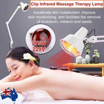 Infrared Light Heating Therapy Lamp Clip Desktop Body Muscle Pain Relief Treat