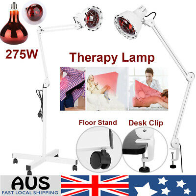 Infrared Ray Heat Light Therapy Lamp Therapeutic Pain Relief Health Beauty 275W