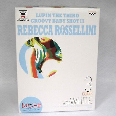LUPIN The Third Figure Rebecca Rossellini Groovy Baby Shot 3 White ver. Japan