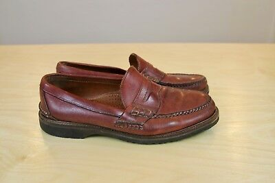 e9d84fc401b Alden Cape Cod Collection Beefroll Moc Moccasin 9.5 D Brown Leather Loafers